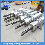 Bewegliche einfache übergebende hydraulische konkrete Steinfelsen-Teiler-Maschine