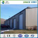 Retrait d'entrepôt de bureau d'atelier de structure métallique par fabrication