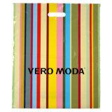 Vier Farbe gedruckte Plastiktaschen für Kleider (FLD-8509)