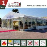 200 tende di alluminio della tenda foranea della gente con le pareti di vetro dell'ABS