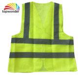 Тельняшка высокой сетки видимости отражательная, тельняшка безопасности, одежда безопасности, отражательная тельняшка безопасности