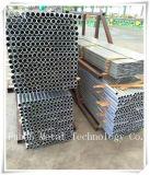 Hohles Kapitel-quadratisches Aluminiumgefäß