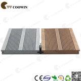 Placas de assoalho plásticas de madeira ao ar livre resistentes do tempo