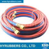 Industriële RubberSlang, de Slang van de Zuurstof/van het Acetyleen, de TweelingSlang van het Lassen, de Enige Slang van het Lassen
