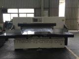 Máquina de estaca /Papercutter/Guillotine do papel do controle de programa 166f