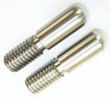 Pezzi meccanici girati precisione d'acciaio filettati di CNC