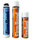 guichet 750ml et mousse de polyuréthane constitutive de remplissage et de fixation une de porte