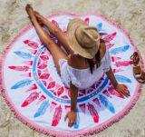 Il tovagliolo di spiaggia rotondo della nappa di nuova stampa di stile