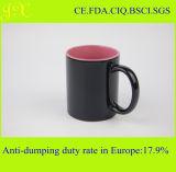 Keramischer Becher der Großhandelsglasur-11oz mit Griff für Kaffee