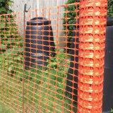 Malha de esgrima de barreira de segurança HDPE