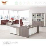 melamine 새로운 형식 디자인 오피스 가구 L 모양 반환 (H70-0165)를 가진 행정상 현대 디렉터 사무실 책상 사무실 테이블