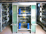 5tiers 160容量Hのタイプの電流を通された層のケージ