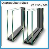 vetro basso fuori linea di E, vetro isolato per la finestra di Buliding