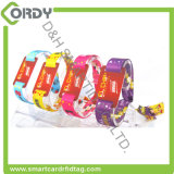 Wristband tessuto 1K classico EV1 di RFID MIFARE per gli eventi