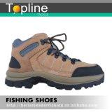 Ботинок Warder рыболовства кожи верхнего слоя напольный