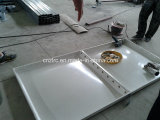 O painel de FRP SMC montado/parafusos e as porcas conetou o tanque de água portátil