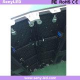 Incurvé le moulage mécanique sous pression annonçant l'Afficheur LED de panneau (P3.91mm/extérieur d'intérieur P4.81mm)