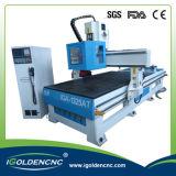 ATC econômico do router de madeira do CNC da máquina de estaca do CNC