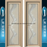 Portelli provvisti di cardini di alluminio e fornitore dorato dei portelli dell'acquazzone