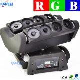 8つのヘッドRGBくもレーザーの移動ヘッドビームディスコライト(SF-300G)
