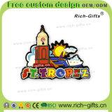 Rue personnalisée Tropez France (RC-FE) de souvenir d'aimants de réfrigérateur de dessin animé de cadeaux de promotion