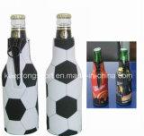 方法熱伝達の印刷のネオプレンの徳利立て、ネオプレンのびんのクーラー、短いビールホールダー