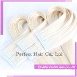 Legare le estensioni con un nastro dei capelli 100% che i capelli umani brasiliani tessono