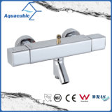 Válvula termostática determinada de la ducha del mezclador de la barra cuadrada con el canalón para la bañera (AF4365-7)