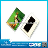 熱い販売のかわいいアクリルおよびプラスチック冷却装置磁石の写真フレーム