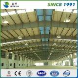 Edificio prefabricado de dos pisos de la estructura de acero para el almacén