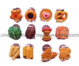 Clip magnético de la resina de la decoración polivinílica de la galleta