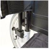 Manual, plegable de acero y de lujo, sillón de ruedas, (YJ-018D)