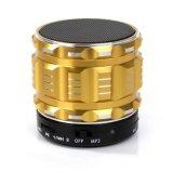 サポートTFカードスロットのステレオの金属の小型携帯用Bluetoothのスピーカー