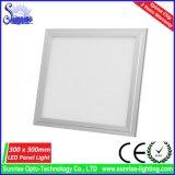 85lm/W 30 los x 30cm 12W adelgazan la luz de techo del panel del LED/la lámpara