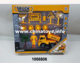 Heißer Verkaufs-Spielzeug-Plastik spielt DIY Friktions-Aufbau-Auto (1066803)