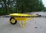 空気車輪が付いている一輪車Wb6400