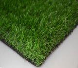 Gazon artificiel semblant normal d'arrière-cour synthétique d'herbe (mA)