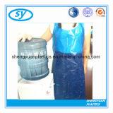 Tablier en plastique remplaçable de PE de qualité