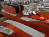 Кровать массажа электрического автоматического нефрита Acupressure воздуха термально тайская