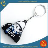 PVC Keychain Donkey Keychain Wholesale Promotional Soft таможни 2D (LN-0195)