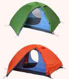 キャンプしているカスタマイズされたライト級選手Backpackingテントをハイキングする