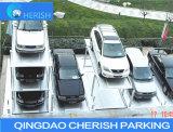 De eenvoudige Economische Lift van het Parkeren van de Kuil voor Drie Auto's