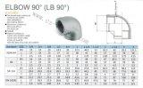 """2 """" aço inoxidável DIN2999 cotovelo F/F de 90 graus"""