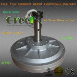 generatore a magnete permanente di cambiamento continuo assiale di 50W-10kw Afpmg per Vawt