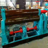 금속 구부리기를 위한 3개의 롤러 격판덮개 회전 기계