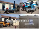 150 Mètres DTH Borewell Air Compressor Drilling Rig