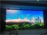 Mur polychrome d'intérieur de P6 DEL pour l'affichage vidéo