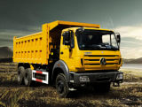 6*4 voor de Vrachtwagen van de Stortplaats van Beiben van de Technologie van Benz van Mercedes