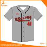 Basebol retro Jersey da venda quente do OEM de Healong