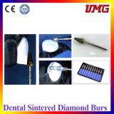 소결한 다이아몬드 Bur는 10 PCS를 놓았다